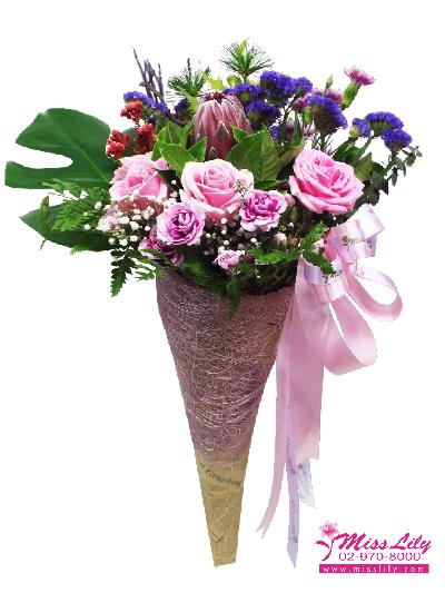 ช่อดอกไม้ มิสลิลลี่