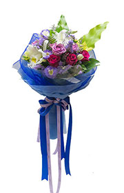 Miss Lily Flower Bouquet,flower shop,flower arrangements,send flowers,flower vase,flower basket,wreath