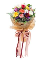 ช่อดอกไม้วันเกิด,ช่อดอกไม้,อวยพรวันเกิด,ของขวัญวันเกิด