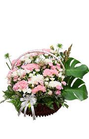 birthday flower Basket,happy birthday, birthday gift