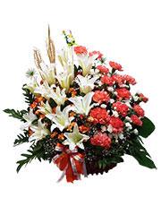 congratulation flower basket, congratulations, opening gift, exhibition congratulations