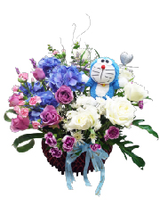 birthday flower Basket,happy birthday, birthday gift