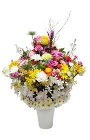 signature design flower, flower vase