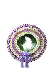 Miss Lily Flower Wreath
