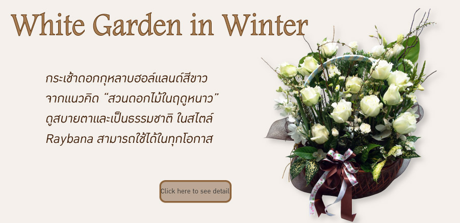 White Garden in Winter
