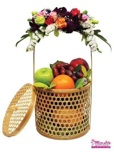 กระเช้าผลไม้