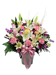 congratulation flower vase, congratulations,opening gift, exhibition congratulations