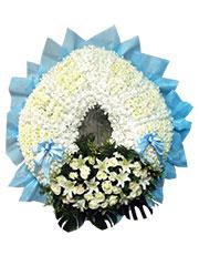 Miss Lily Flower Wreath, sympathy, funeral, flower wreath