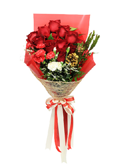Red Rose Valentine Bouquet